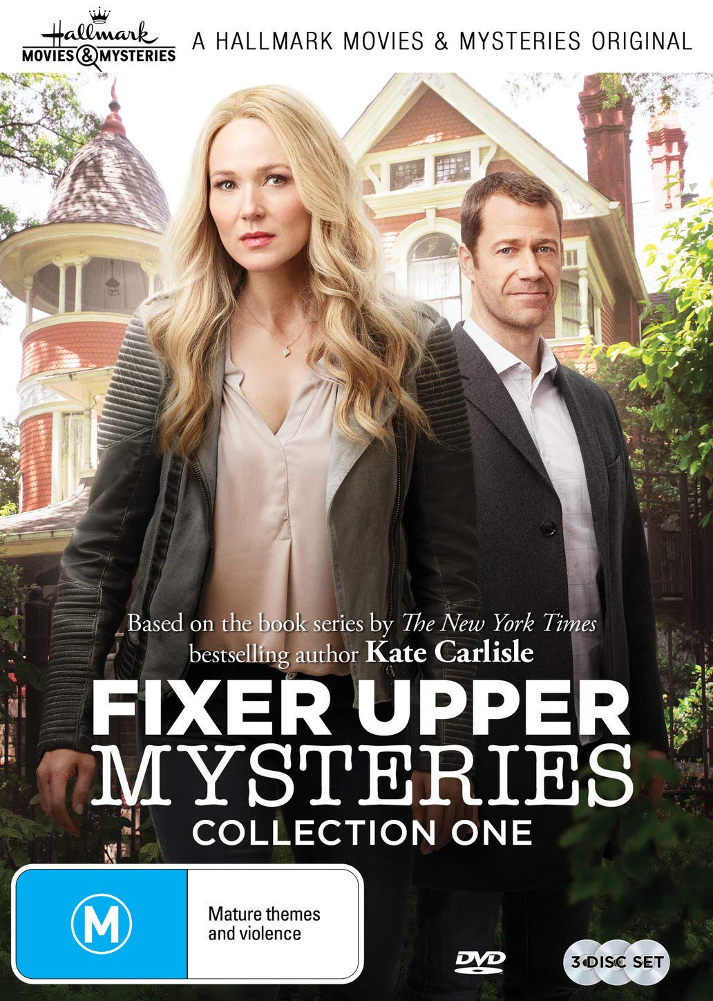 Fixer Upper Mysteries - 3 Film Collection One (Framed for Murder/Concrete Evidence/A Deadly Deed) Jewel Colin Ferguson VVE1471