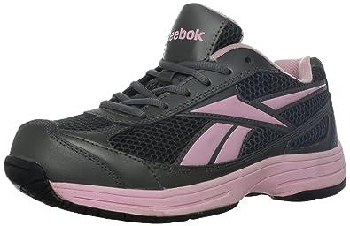 Reebok Work Women's Ketee RB164 Work Shoe,Black/Pink,6 ...
