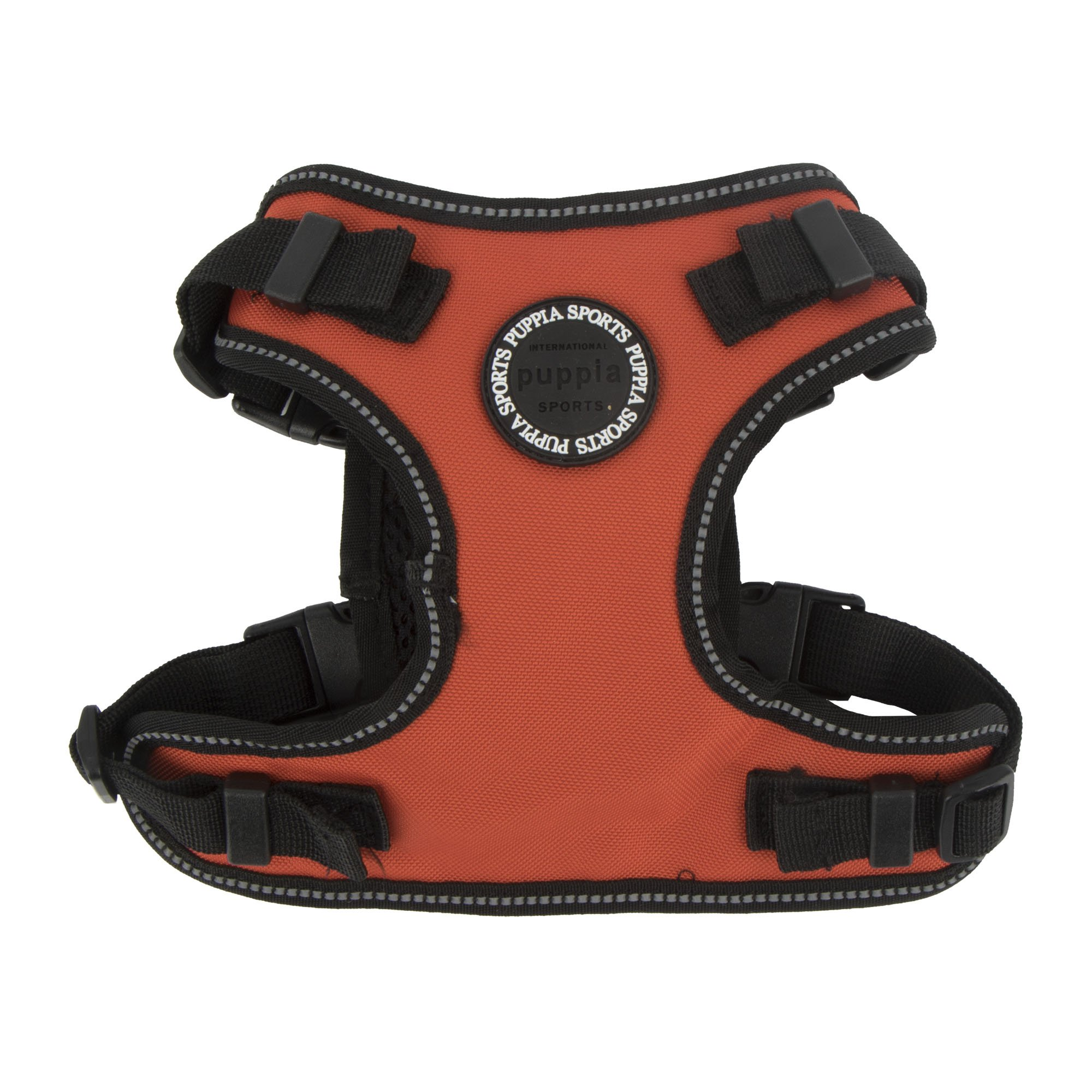 Puppia PLRA-HF9323-OR-XL Orange Trek Safety Harness F Pet-Vest-Harnesses, X-Large