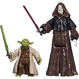 Star Wars – Mission Series – Yoda & Darth Sidious – Figurines 9 cm