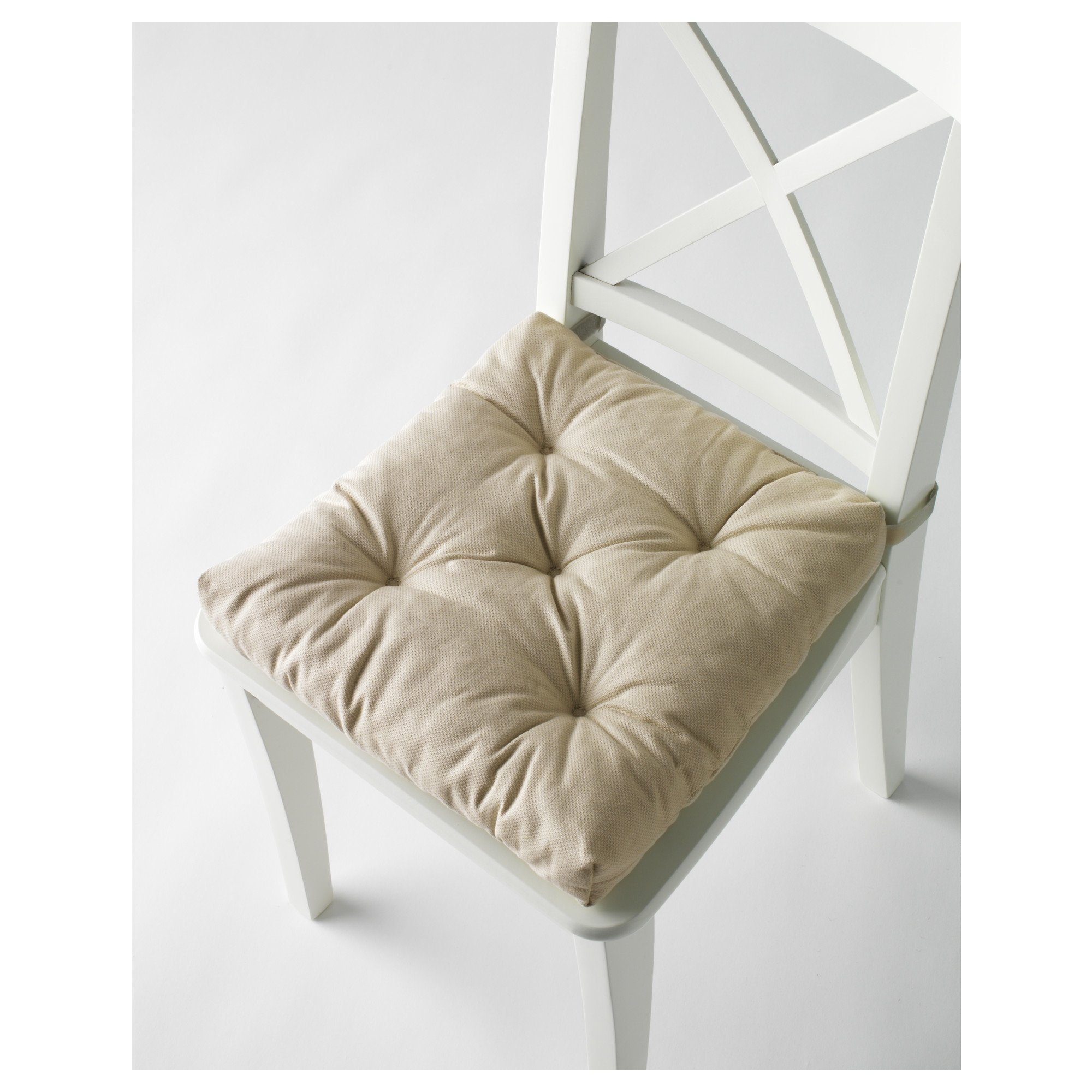 Ikea's MALINDA Chair cushion (5, Light Beige)