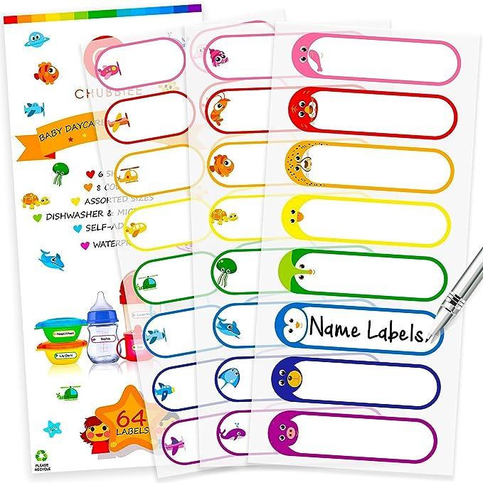 Camp labels Waterproof labels Name labels School labels Daycare labels School labels Name stickers Kindergarten labels Name tag stickers