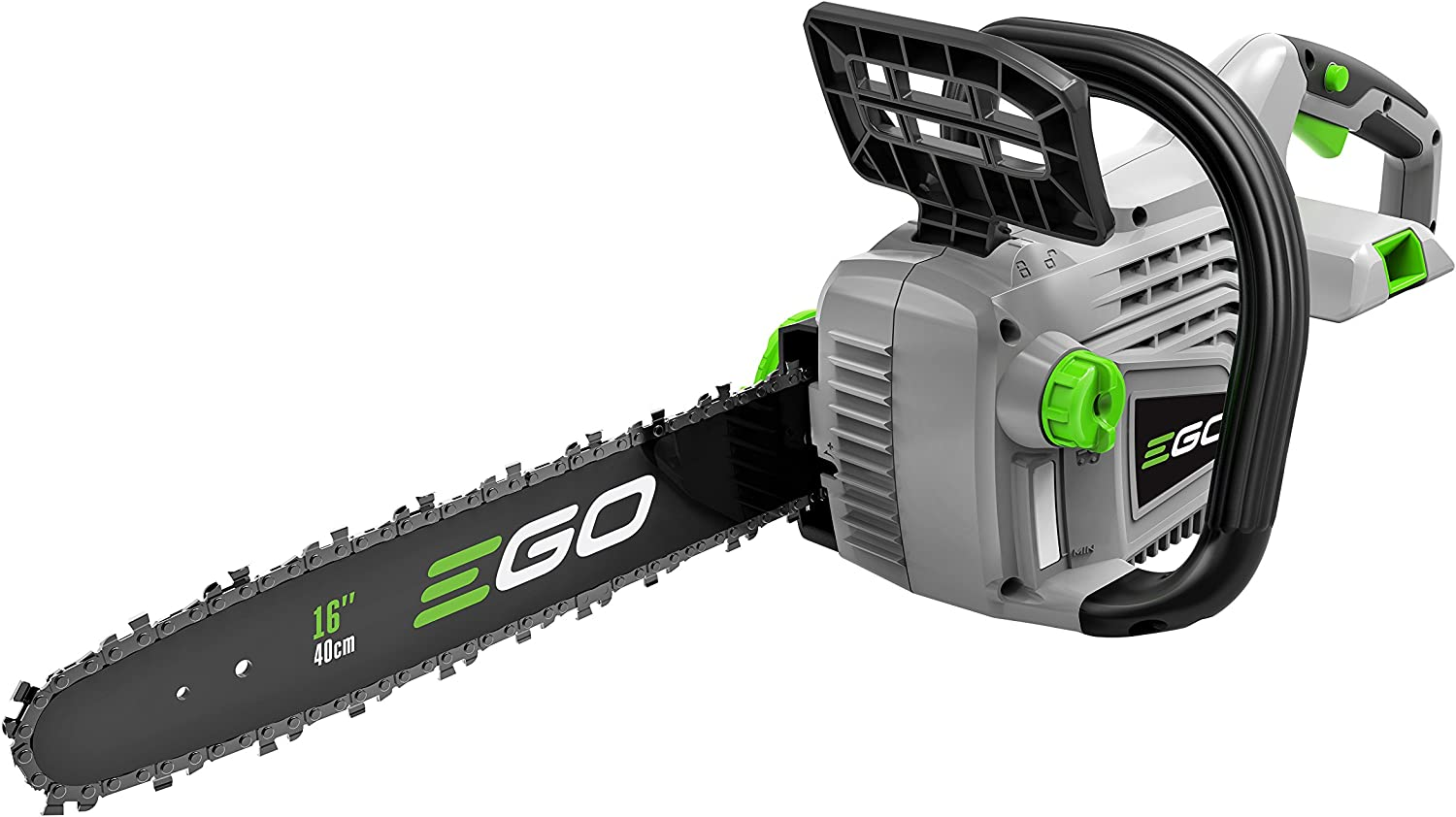 EGO Power CS1600 16-Inch 56V Lithium-ion Cordless Chainsaw – Battery and Charger Not Included