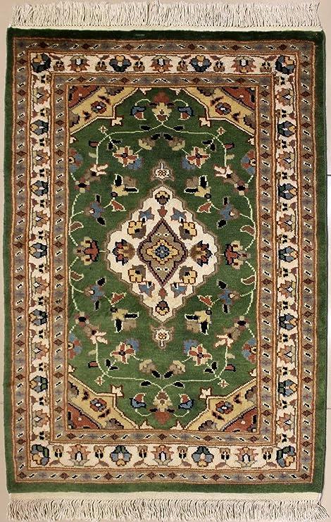 RugsTC 79 x 117 Tappeto Persiano Pak con Pila in Seta e Lana ...
