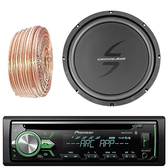 Amazon com: Pioneer DEH-X4900BT Car Bluetooth Radio USB AUX CD