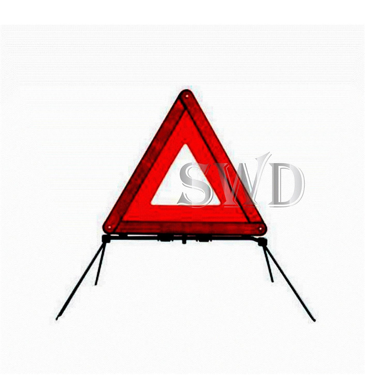 Folding Hi Vis Road Safety Emergency Breakdown Warning Hazard Sign Triangle Case RS