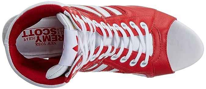 adidas Originals Jeremy Scott High Heel Schuhe Farbe: Rot