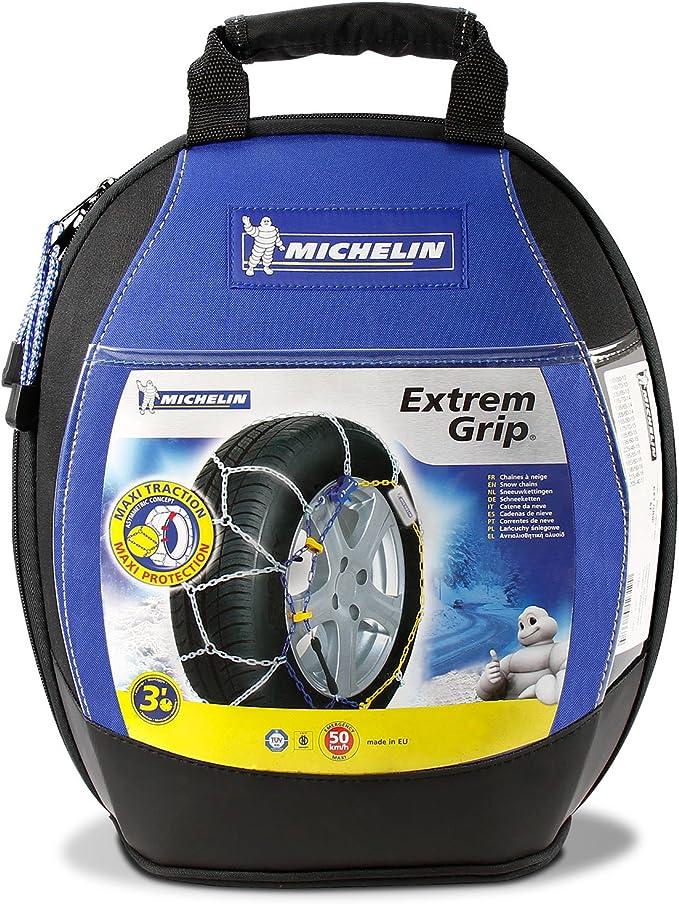 Michelin 92307 Cadenas de nieve, M1 Extrem Grip 59, compatibles ...