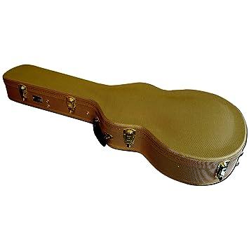 774e567a01 Spider Shaped 335 Tweed Hard Guitar Flight Case: Amazon.co.uk ...