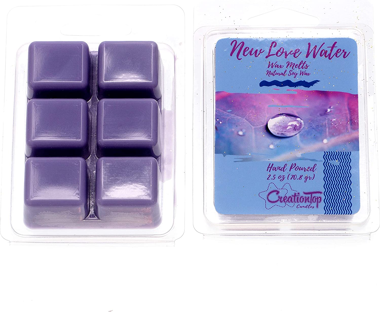 Scented Soy Wax Cubes Lavender Scented Wax Melts 2 Pack with FREE SHIPPING Free Shipping Compare to Scentsy\u00ae Bars