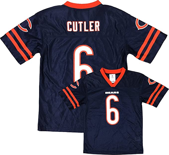 7ded4ea62 Outerstuff Jay Cutler Chicago Bears Navy Blue Toddler Home Player Jersey (Toddler  2T)