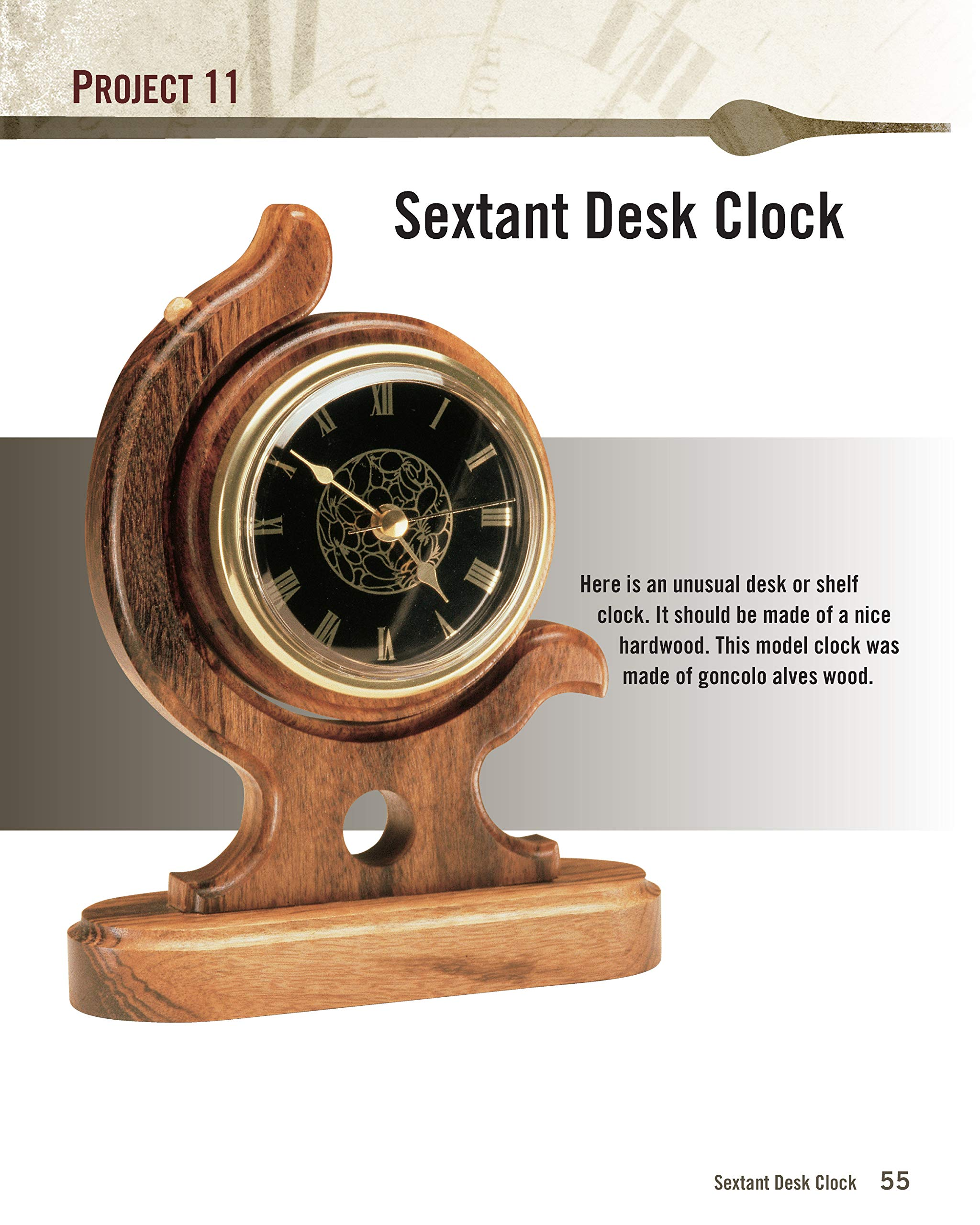 Complete Guide To Making Wooden Clocks 3rd Edition 37