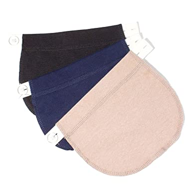 e168aa63a47d9 KANGYH Maternity Belly Band | Pregnancy Belt, Waistband Extender Mothers  Maternity Wear The Best Gift for a Pregnant Woman ...: Amazon.co.uk:  Clothing
