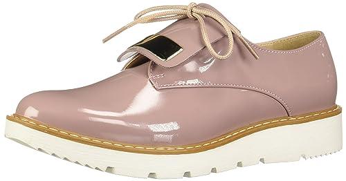 Color De Cordones Zapatos Mujer 2499581 Rosa Para Andrea Oxford q710wUxz1