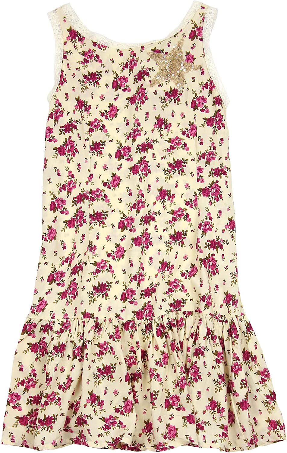 Next Girl`s Dress Print Floral Multi color Size 10,14 years