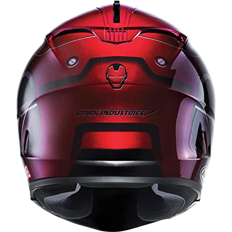 Casco Moto Hjc Marvel Is-17 Ironman Rojo-Oro (Xxs , Rojo): Amazon.es: Deportes y aire libre
