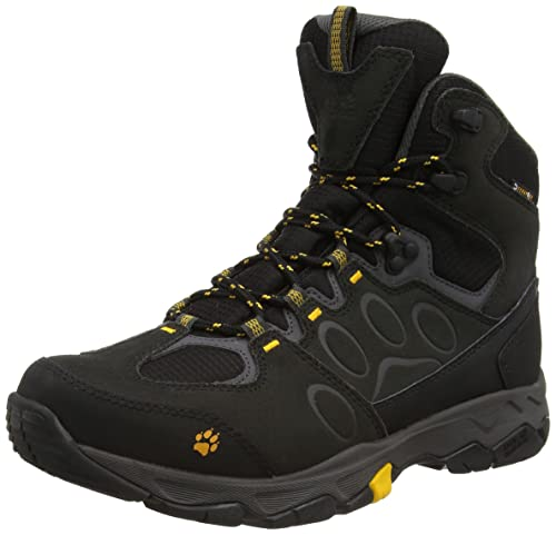 Jack Wolfskin MTN Attack 5 Texapore Mid M, Men's High Rise Hiking Shoes,  Black