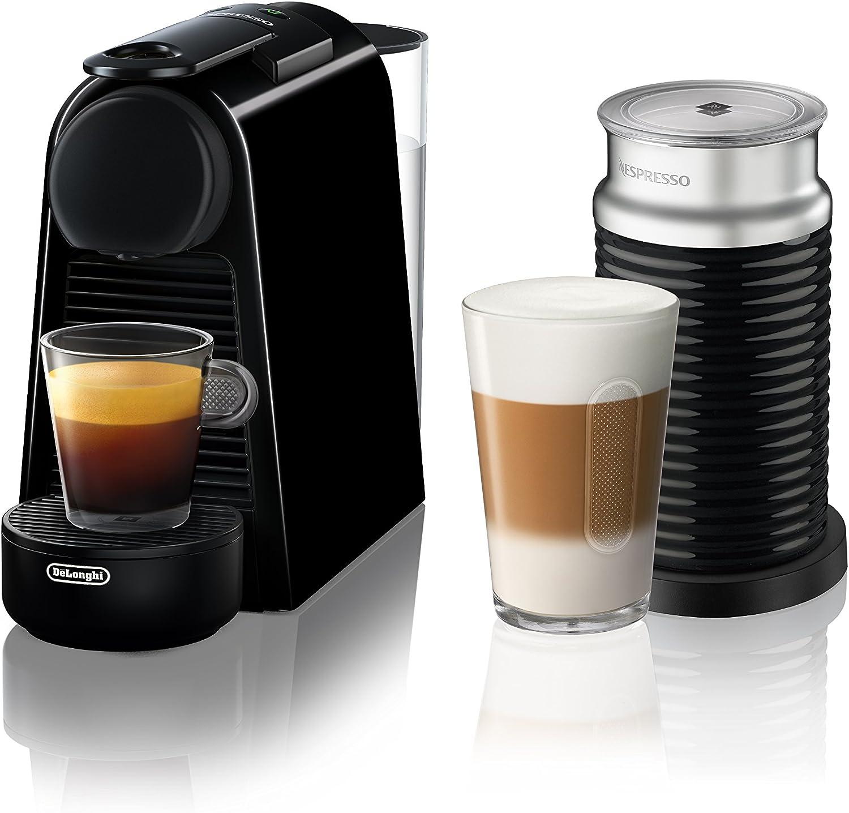 Nespresso by De Longhi EN85BAE Nespresso Essenza Mini Espresso Machine, Black