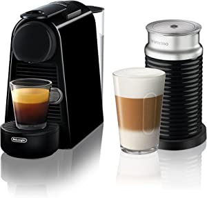 Nespresso by De'Longhi EN85BAE Nespresso Essenza Mini Espresso Machine, Black