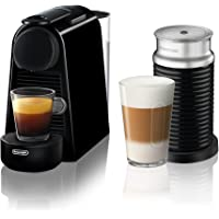 Nespresso Essenza Mini Espresso Machine by De'Longhi with Aeroccino