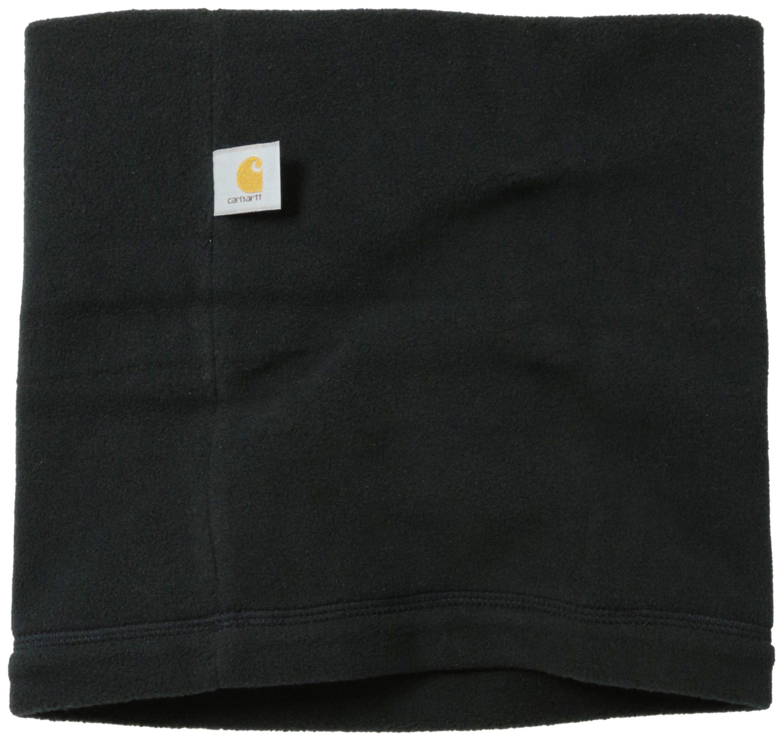 Carhartt Men's Fleece Neck Gaiter, Black, One Size by Carhartt