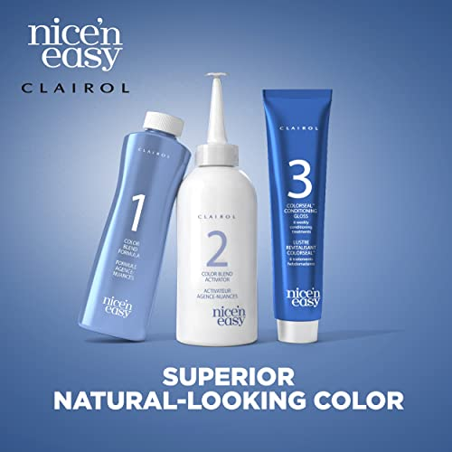 Clairol Nice 'n Easy Hair Color 124, 2BB Natural Blue Black 1 Kit