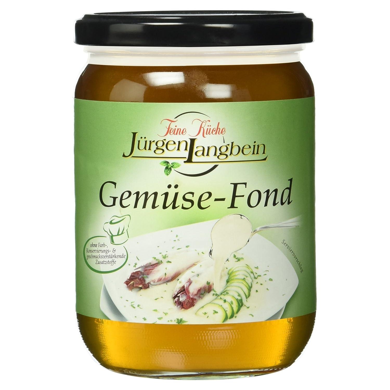 Jurgen Langbein Gemuse Fond 500 Ml Amazon De Lebensmittel Getranke