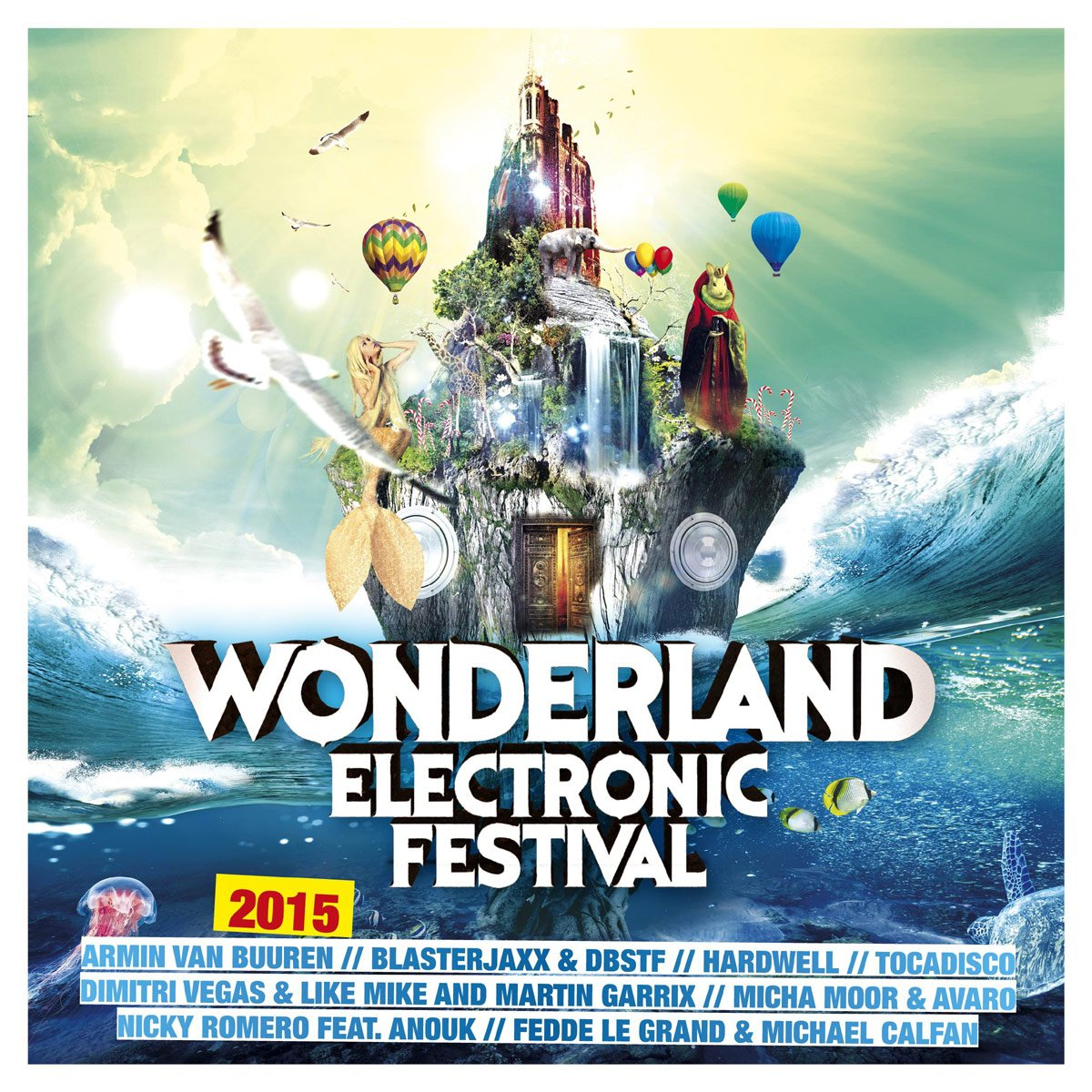Various - Wonderland Electronic Festival 2015 - Amazon.com Music