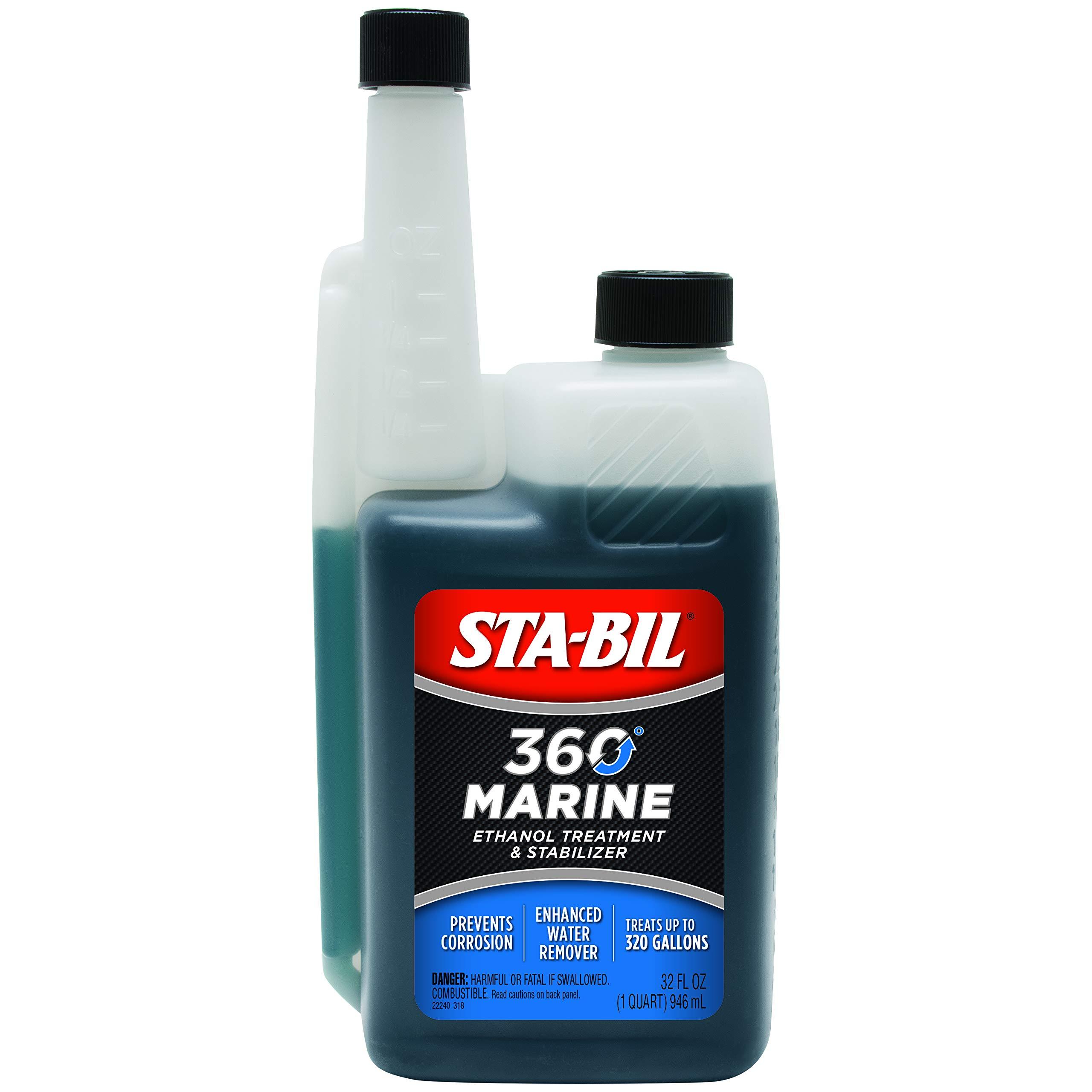 STA-BIL 360 22240-6PK Marine with Vapor Technology, 32 oz. (Pack of 6)