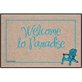 High Cotton Outdoor Mat, Welcome Paradise