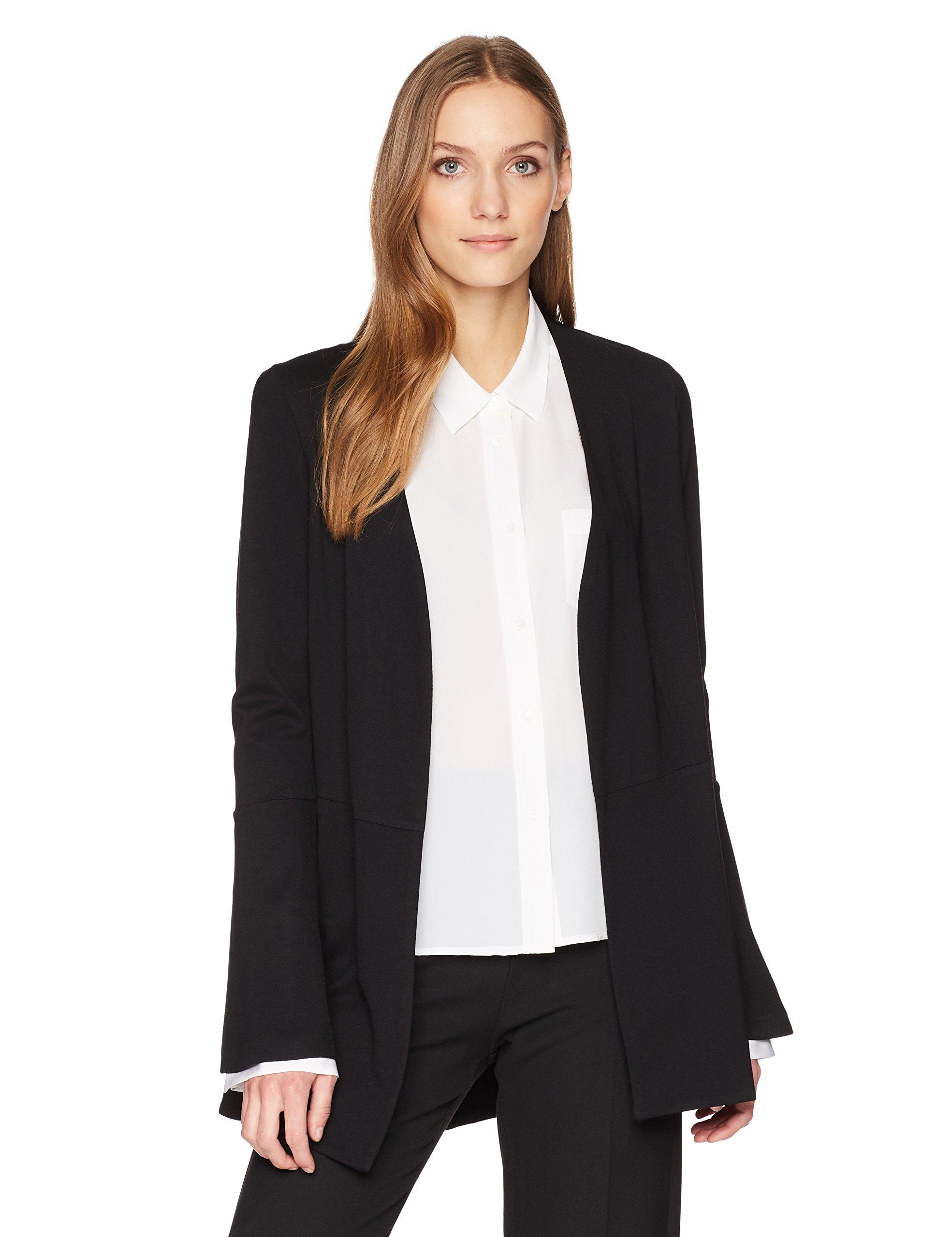 Lyssé Women's Macklin Ponte Jacket, Black, XL