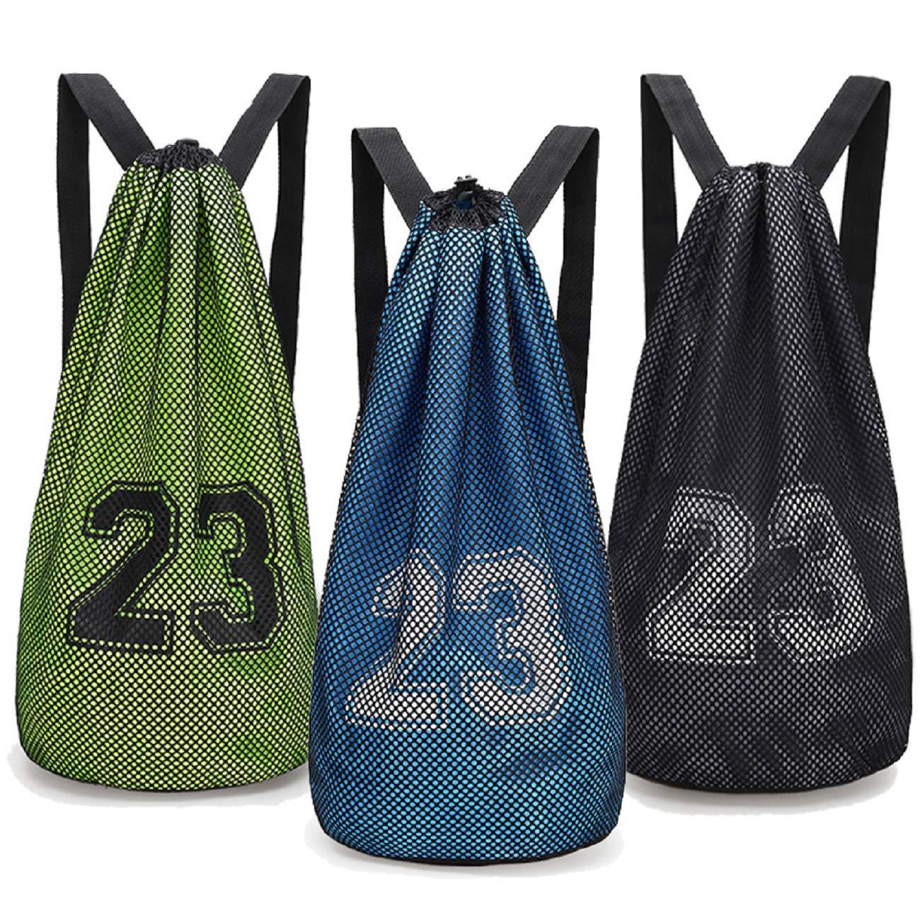 Basketball, Soccer, Organize Sports Gym bag Equip (Green) … (Orange)