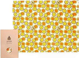 SuperBee Beeswax Wrap   Big Daddy XXL Wax Wrap   Passion Som   Reusable, Eco Friendly, Zero Waste Food Wrap
