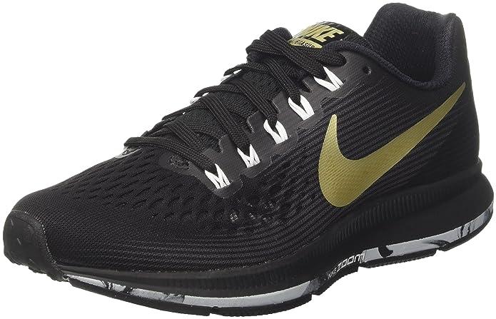 Amazon.com | Nike WMNS AIR Zoom Pegasus 34 Womens Road Running Shoes 880560-017 Size 5.5 B(M) US | Sandals