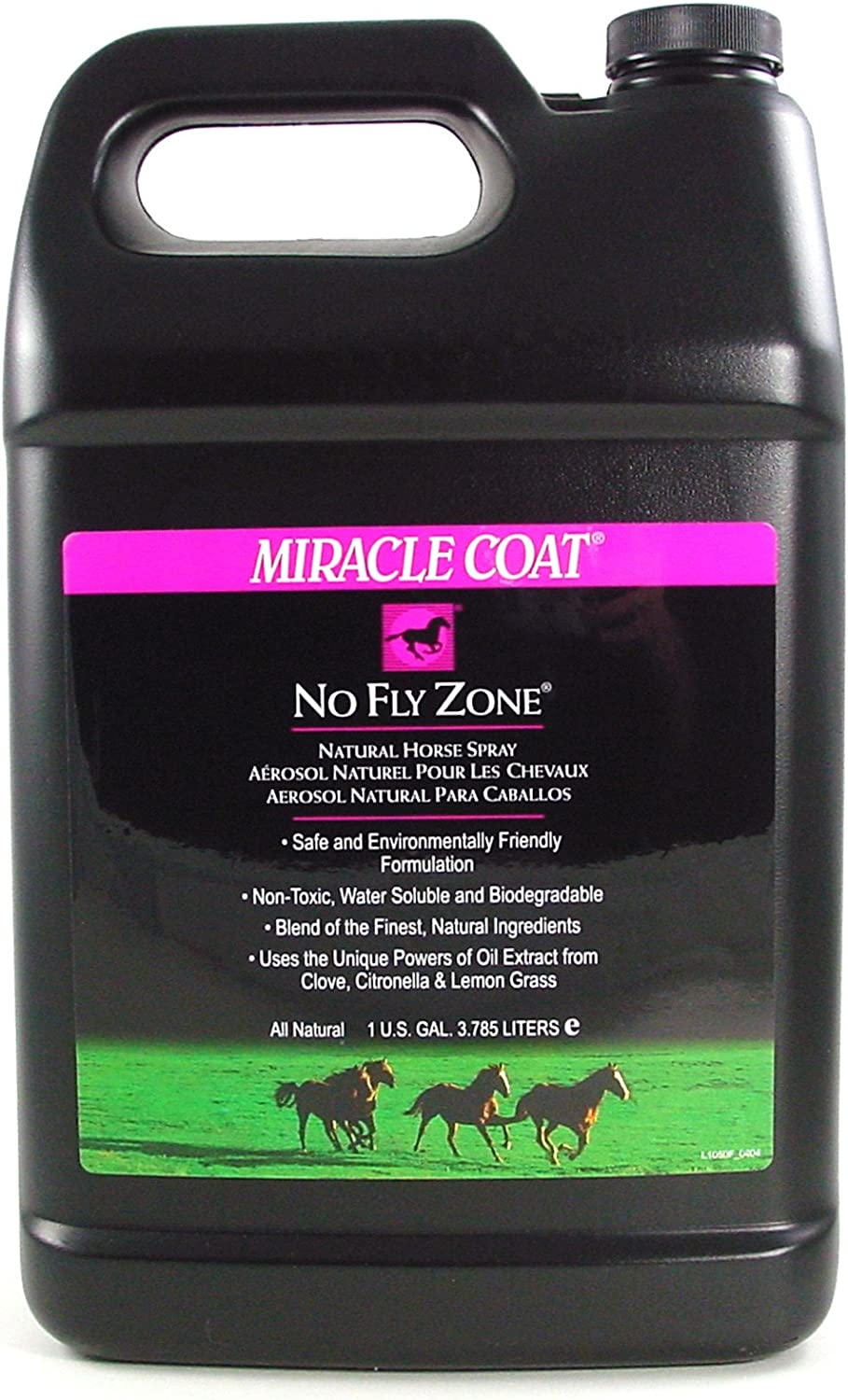 Miracle Coat No Fly Zone for Horses, 1 Gallon