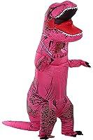 caringgarden Unisex Jurassic T-Rex Inflatable Costume Dinosaur Fancy Dress