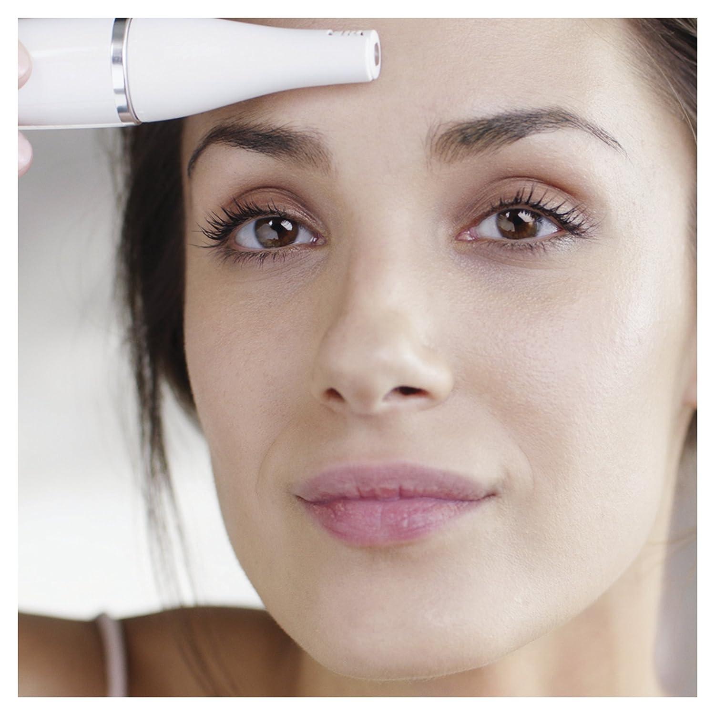Braun FaceSpa Pro 921 - Sistema 3 en 1 con depiladora facial, cepillo limpiador facial y cabezal tonificador, base cargadora, bronce: Amazon.es: Salud y ...