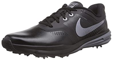 NIKE Lunar Command Men's Golf Shoes, Black/Cool Grey/Metallic Cool Grey,
