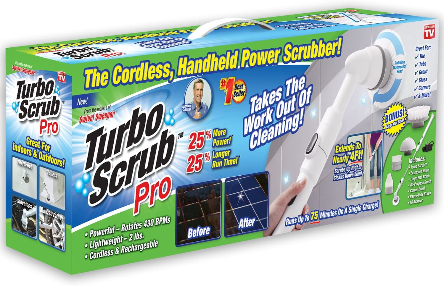 Top 9 Best Power Scrubber