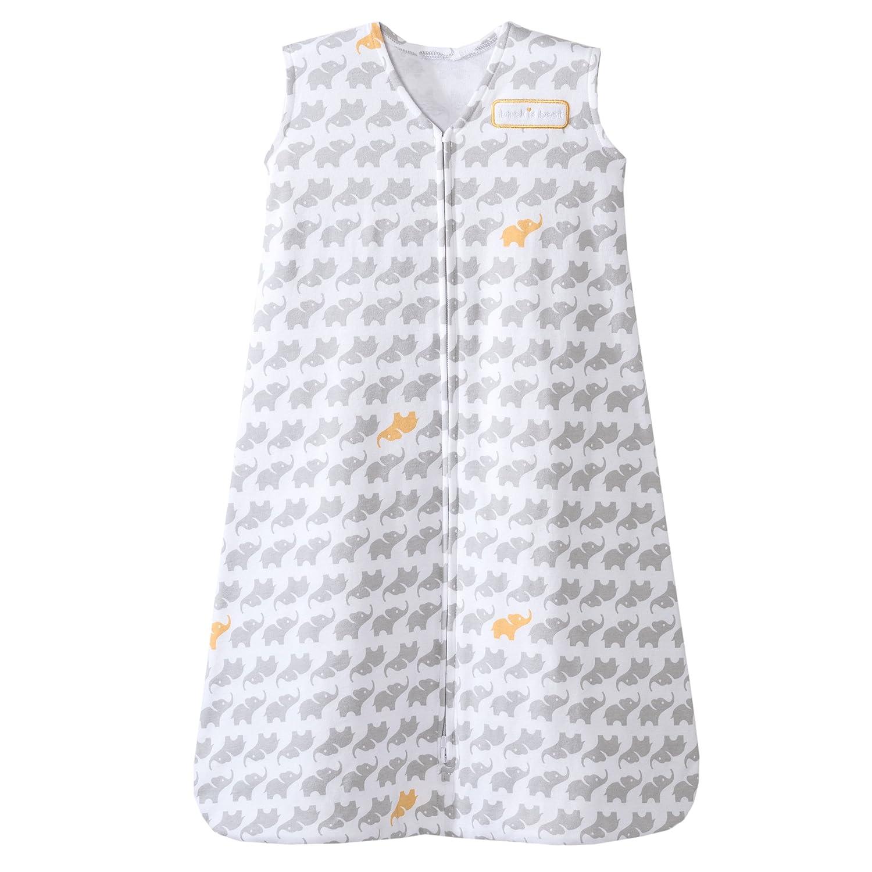 Halo 100% Cotton Sleepsack Wearable Blanket, Grey Birds, Large 4025