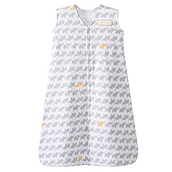Large Elephant Texture Halo – SleepSack Wearable Blanket Micro-fleece Gray