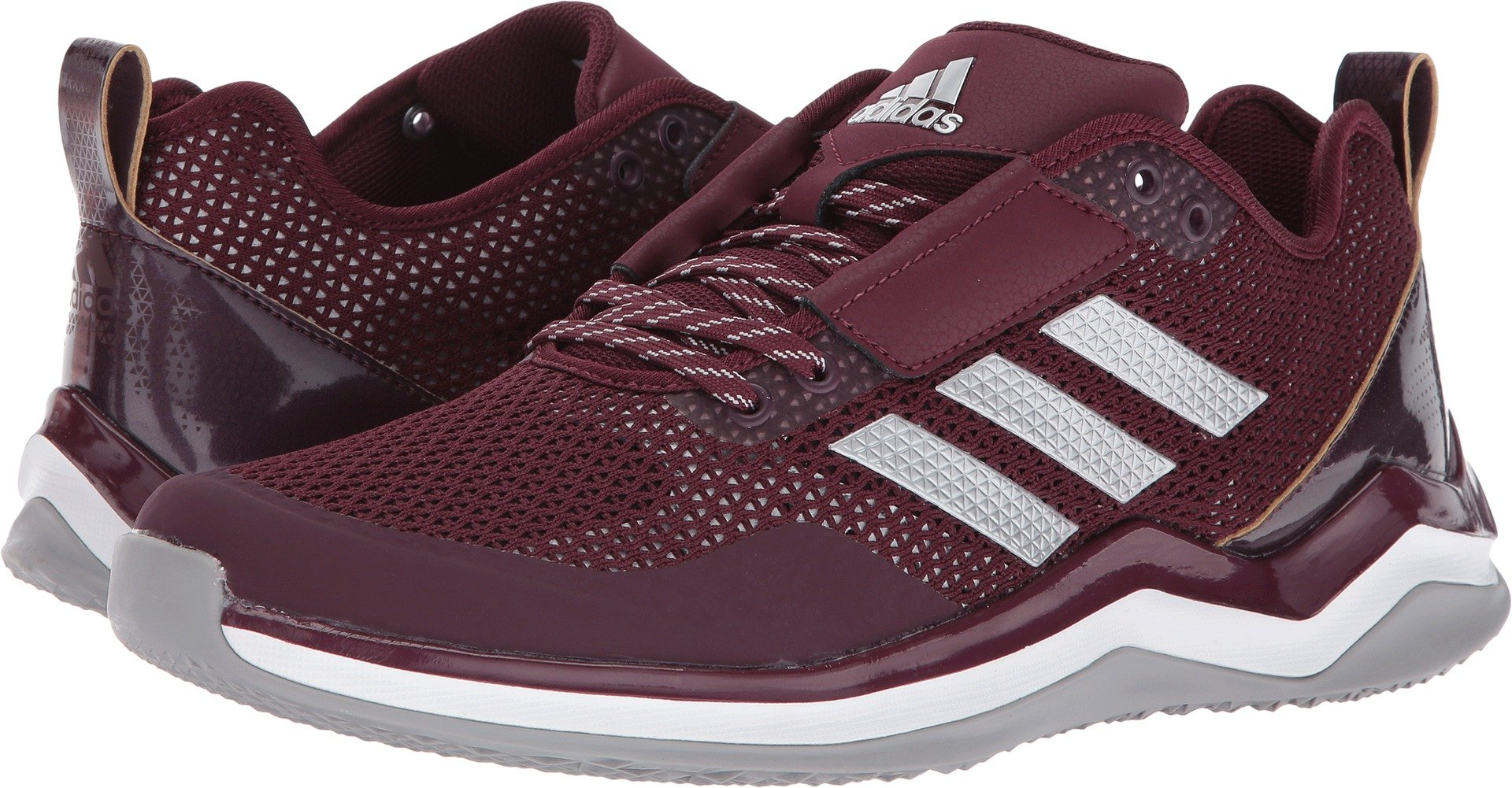 adidas  Men's Speed Trainer 3.0 Maroon/Silver/White 9 D US by adidas