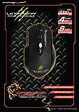 Dragon War 39943 Souris Filaire Leviathan Gaming pour PC et MAC - Noir