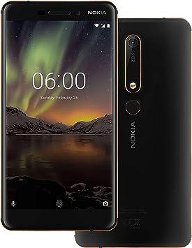 Nokia 6 (2018) Dual SIM 64GB Negro SIM Free: Amazon.es: Electrónica