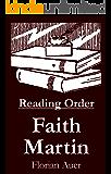 Faith Martin - Reading Order Book - Complete Series Companion Checklist (English Edition)