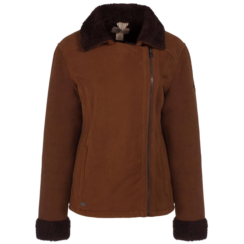 Regatta Womens//Ladies Bernetta Asymmetric Zip Fur Pile Fleece Jacket