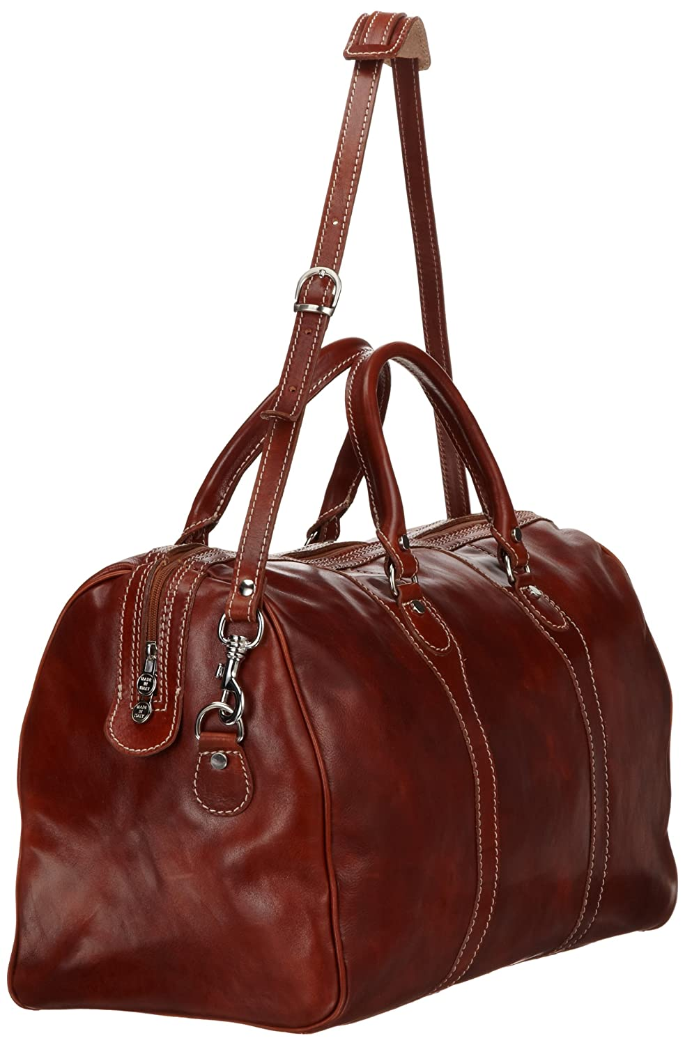 Floto Luggage Milano Duffle Bag One Size Olive Brown