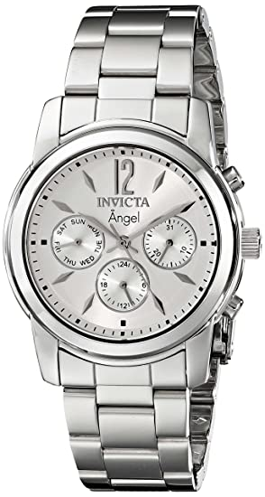 Invicta Women s 0461 Angel Collection Stainless Steel Watch  Invicta ... 1f2f9d26a307