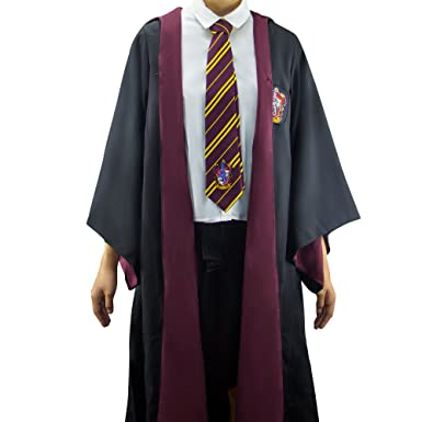 Amazon.com: Harry Potter Robe   Authentic Official Tailored Wizard Robes  Cloak   Adults And Kids Size   Cinereplicas: Clothing
