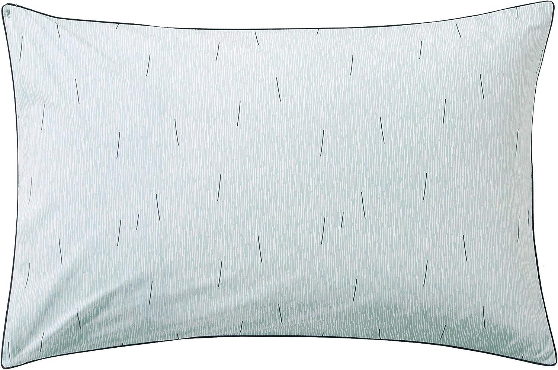 Blanc des Vosges Sonnenschirm 100/% Baumwolle Aqua 65 x 65 cm